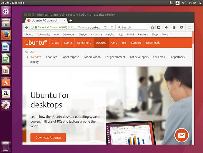 Install Ubuntu 16 04 Desktop Ubuntu